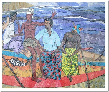 fishermen collage