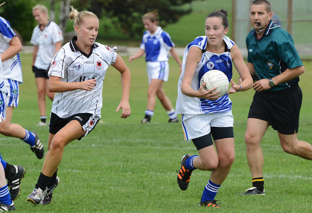 Ladies Gaelic Football Indoor League - Monday Evenings