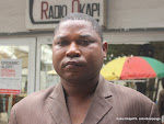 Marcel Ngoy, diteur du journal La Prosprit. Radio Okapi/ Ph. John Bompengo