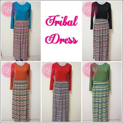 TRIBAL DRESS TEASER