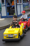Eidan at driving school