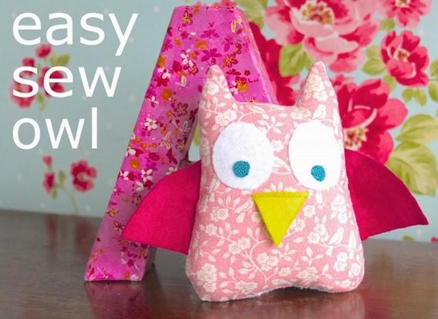 easy sew owl