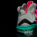 nike lebron 9 ps elite grey candy pink 6 05 LeBron 9 P.S. Elite Miami Vice Official Images & Release Date