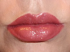 Lips with Poised Age Defying Lipcolor and Daydream Lip Polish On Top