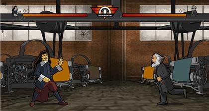 Filosofighters - jogo de luta onde você duela com alguns dos principais filósofos da humanidade
