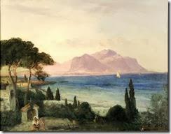 Blick_über_die_Bucht_von_Palermo,_im_Hintergrund_der_Monte_Pellegrino,_Oswald_Achenbach