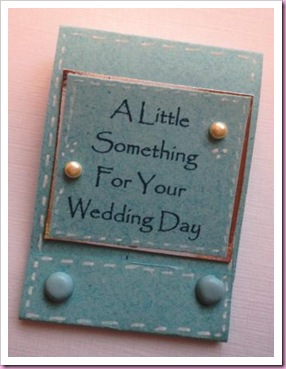 Sizzix Matchbook Brides Lucky Sixpence