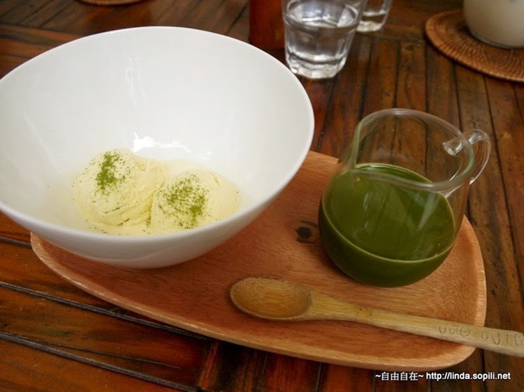 杏桃鬆餅屋-漂浮抹茶