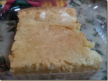 Cream Cheese Chess Pie