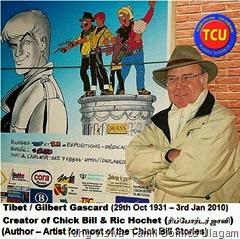 TCU 19th Oct 2014 Chick Bill Started in 1955 Tibet