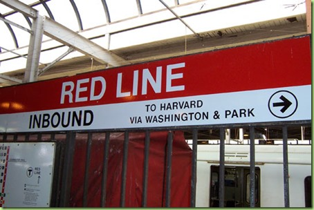 the red line boston