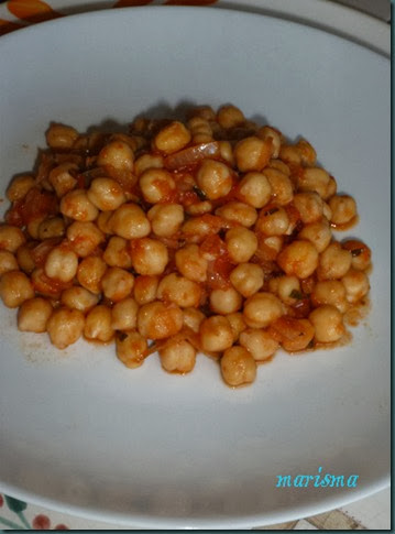 garbanzos en refrito,racion copia