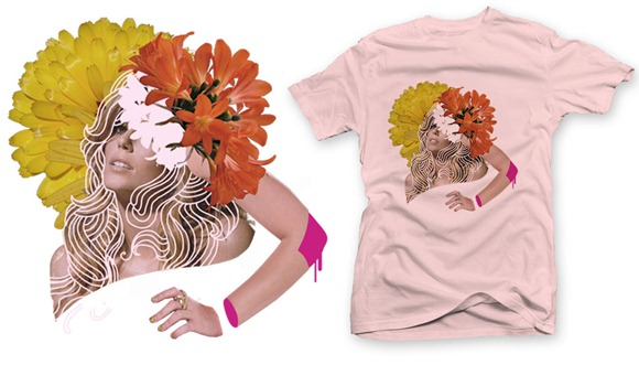Camiseta Invasao Flowers