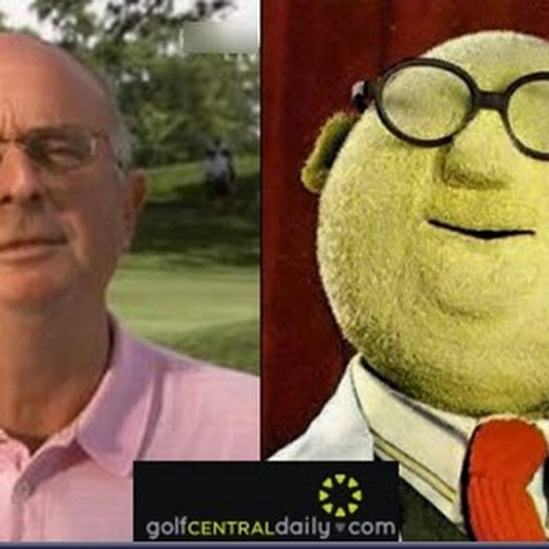 Separated At Birth: Bruce Critchley and Dr Bunsen Honeydew