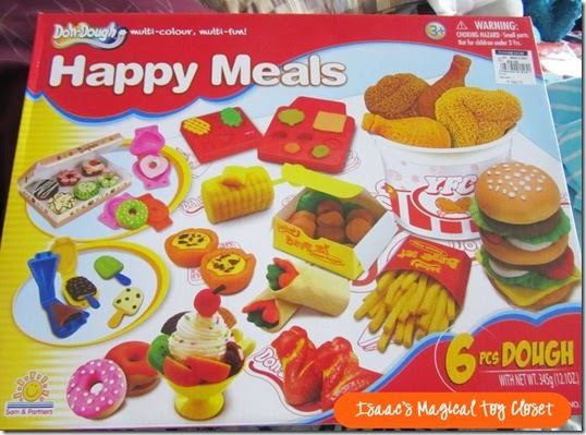 doh-dough happy meals set