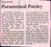 Paranormal Paisley