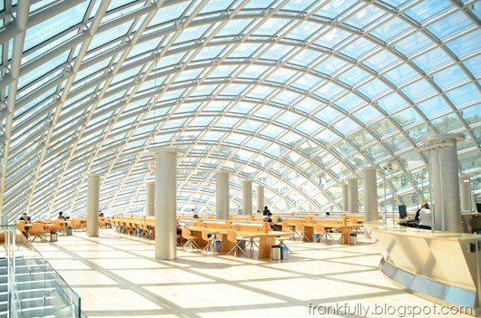 Mansueto Library at the University of Chicago