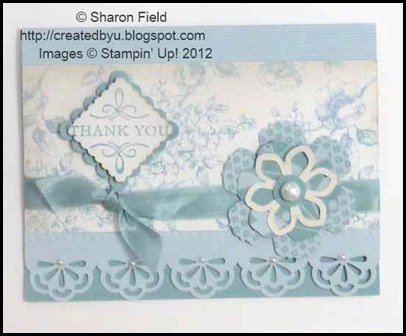 Beau Chateau Baja Breeze Duo Card One by Sharon Field