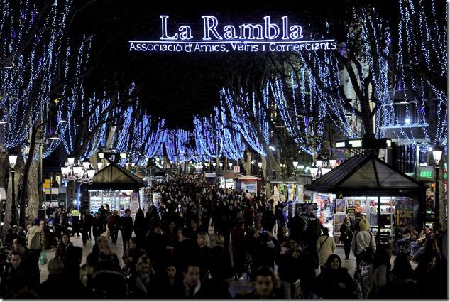 SPAIN-CHRISTMAS-LIGHTS