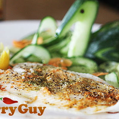 Tandoori Style Grilled Lemon Sole