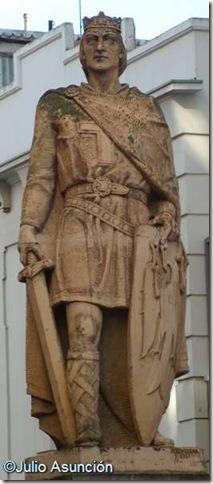 Sancho el Fuerte - Estatua de Tudela