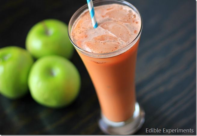Sweet Potato, Parnip, and Apple Cinnamon Juice