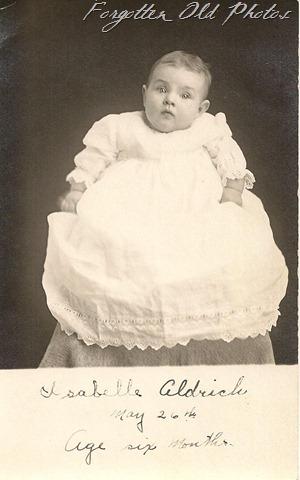 Postcard Isabelle Aldrich DL Antiques
