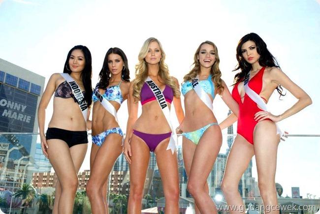 Kumpulan Foto Bikini Maria Selena di Miss Universe 2012 || gudangcewek.com