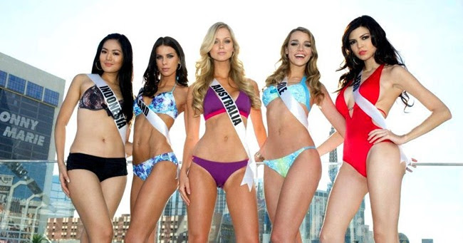 kumpulan foto bikini maria selena di miss universe 2012