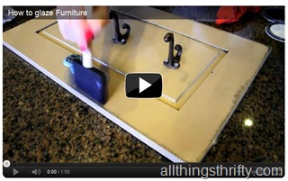 glazing furniture video