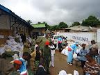 Des colis de procès-verbaux et des bulletins de vote empilés dans un centre de compilation de la Ceni à Lubumbashi (Katanga), le 29 novembre 2011. Radio Okapi