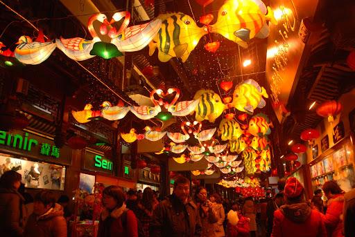 Shanghai Fête des Lanternes 2012 - Lanternes animalières