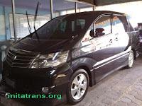 Sewa Mobil Alphard Mewah Yogyakarta