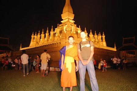 Pha That Luang, most important temple of Laos