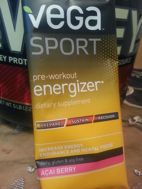 Vega Pre-Workout Review