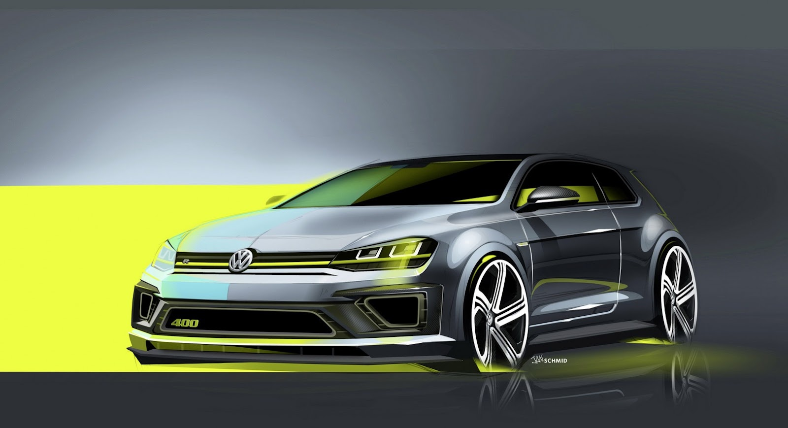 volkswagen golf vii r400 concept beijing 2014 forocoches. Black Bedroom Furniture Sets. Home Design Ideas