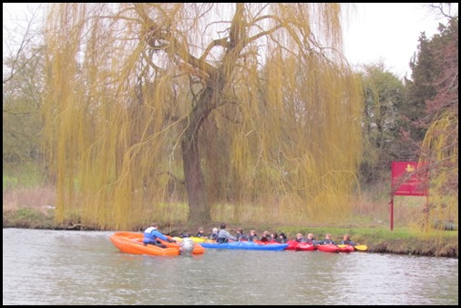 9 Apr Moston School Canoe