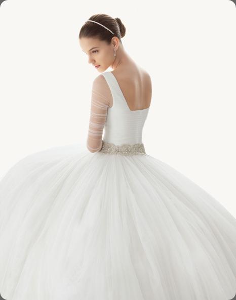 wedding dress vestido_de_novia_rosa_clara_135 rosa clara belinda style back