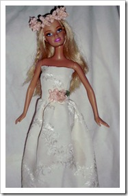Old Barbie Doll to Flower Princess