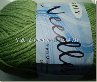 2012 Needles soft green