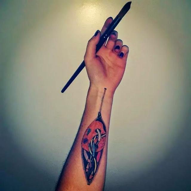 Body art brazo