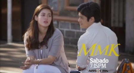 Shaina Magdayao and JC De Vera for MMK