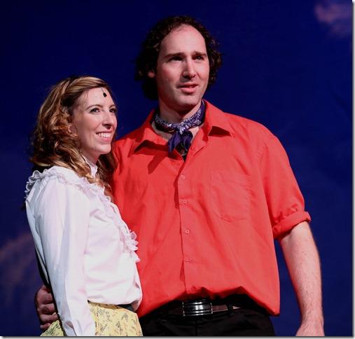 Joel Varty & Marley Budreau in Oklahoma!