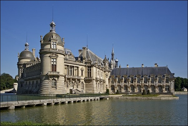 قصر شاتو دي شانتيلي