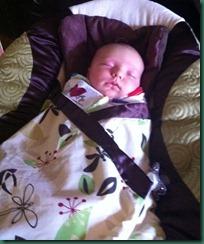 eli five weeks old