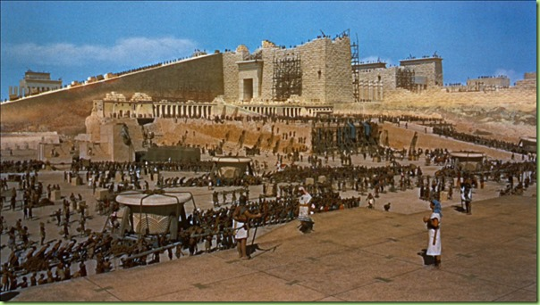 ten commandments scene hebrew slaves building rameses city with bricks they made