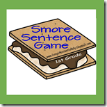 1st Grade Smore Sentence Language Arts Game