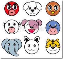 caras de animales para imprmir (12)