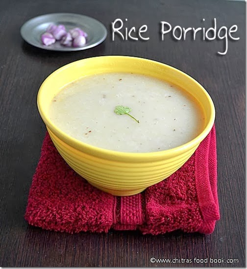 rice porridge recipe