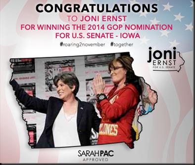 Congrats Joni from Sarah